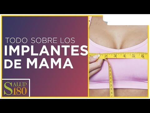 Implant de la glándula mamaria