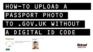 How to upload your passport photo WITHOUT a digital ID photo code to Gov Passport renewal service