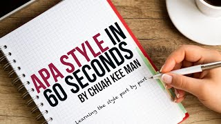 APA Style in 60 Seconds - Episode 2: Multiple Authors
