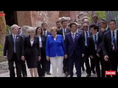 Donald Trump na jednání G7 v Itálii rozbil jednotný přístup ke globálnímu oteplování