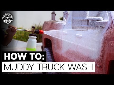 How To Clean REALLY Muddy Truck! - Chemical Guys