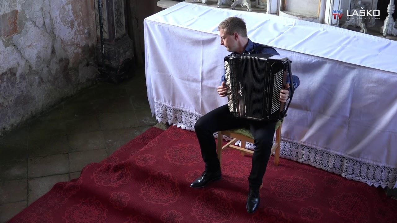 Romanica Antiqua – Dejan Kušer – akordeon (Laško, 25.6.2019)