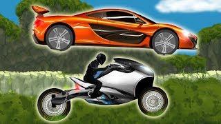 Машинки гонки мультики развивающие для детей игры на андроид Exion Hill Racing Серия 4