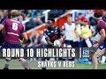 ROUND 10 HIGHLIGHTS: Sharks V Reds – 2019