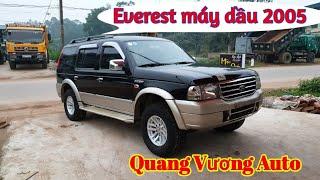 Everest  máy dầu 2005 xe đẹp vừa về