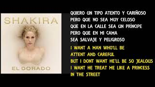 Shakira - Perro Fiel - English S Version  S Meaning -  EspaÑol