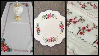 Top Amazing Cross Stitch Borders For Table Covers