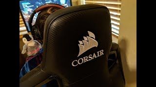 Corsair T1 RACE Gaming Chair Unboxing & Assembly