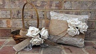 Burlap Wedding Ideas To Bring A Warm Rustic Feel | NEW BURLAP DECOR COLLECTION