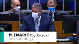 Plenário - Sessão para a votação de propostas legislativas - 05/05/2021 13:55