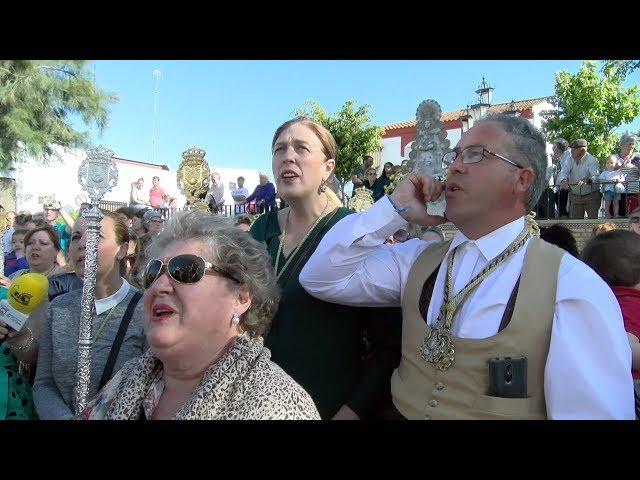 Cartaya recibe a las hermandades del Rocío de Isla Cristina y Ayamonte