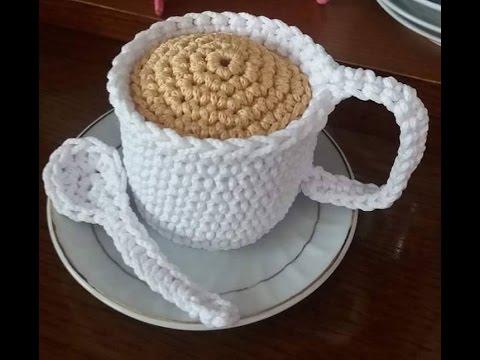 Tazza cappuccino amigurumi