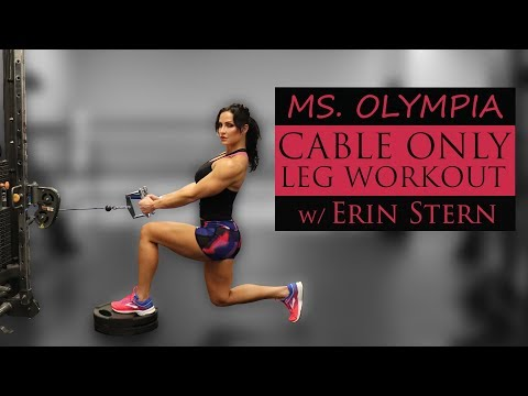 Cable Single Leg Reverse Calf Raise