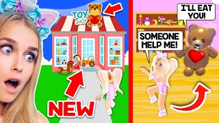 TOY SHOP Has A *NEW* TOY That COMES ALIVE Every Night In Adopt Me.. (Roblox)