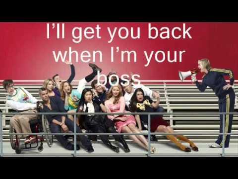 Loser Like Me || Glee || KARAOKE