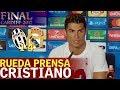 Juventus 1-4 Real Madrid | Rueda de prensa de Cri - Vídeos de Cristiano Ronaldo del Real Madrid