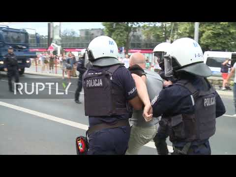 Poland: Bialystok's first LGBT Pride march met with counter-protest