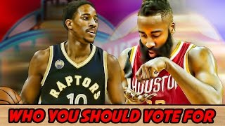 NBA All-star game 2017: Who should you vote for?