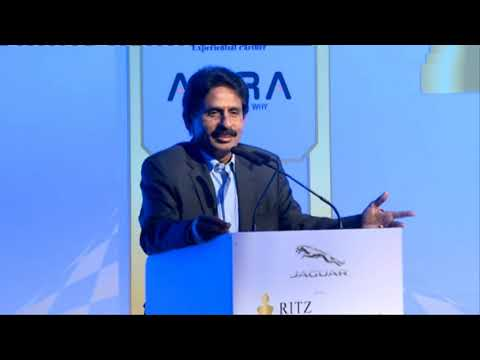 N Chandran at Jaguar RITZ Entrepreneurship Summit 2016, Chennai