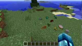 Minecraft: 3D Items Mod - Floating Items Are Now 3D!
