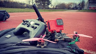 Here we go again - School FPV Freestyle Ripping with Lethal Conceptions Bandokiller HD