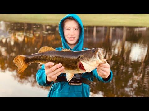 INSANE BASS FISHING ON GOLF COURSE PONDS!! (Florida Bass Fishing)