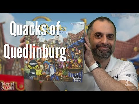 3 Things in 3 Minutes: Quacks of Quedlinburg Review