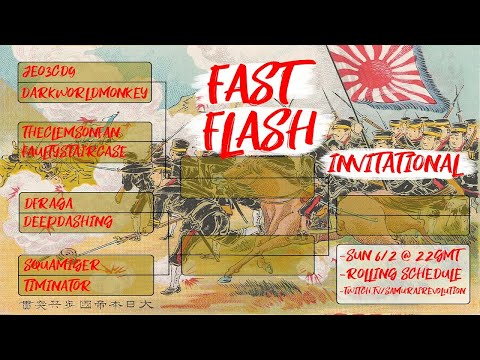 5 HOUR - FAST FLASH Invitational Tourney! Age of Empires III