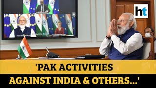 PM Modi discussed China border, Pak terror with EU leaders at summit - Download this Video in MP3, M4A, WEBM, MP4, 3GP