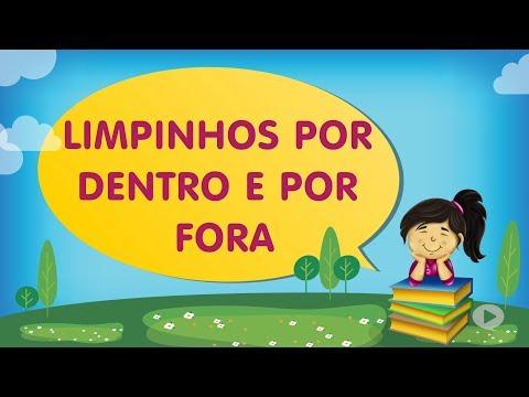 LIMPINHOS POR DENTRO E POR FORA | Cantinho da Criança com a Tia Érika