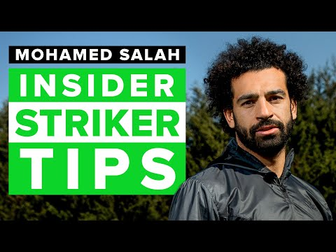 How to improve as a striker   football skills tips from Mo Salah