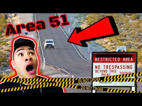 Storming AREA 51 EARLY... CHASED OUT!