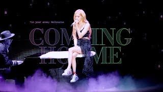 190613 BLACKPINK ROSÉ 로제 IN YOUR AREA Melbourne 직캠 - Coming Home (솔로 Solo Stage)