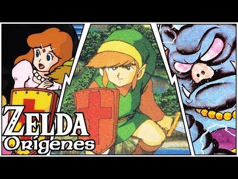 Los orígenes de Link, Zelda y Ganon