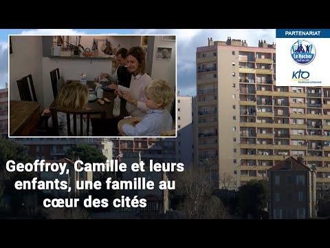 Geoffroy, Camille et leurs trois enfants, une famille au coeur des cités