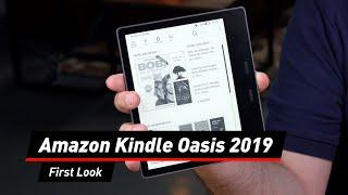 First Look: Was kann das Amazon Kindle Oasis 2019?