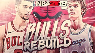 5 FOR 5! CHICAGO BULLS REBUILD! NBA 2K19