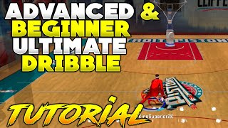 NBA 2K20 ULTIMATE ADVANCED & BEGINNER DRIBBLE TUTORIAL AFTER PATCH 13 FINAL PATCH