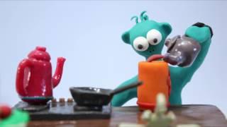 Пластилиновый мультфильм про генно-модифицированные продукты.