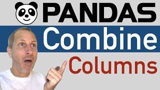 Python Pandas - Combine 2 Columns of a DataFrame
