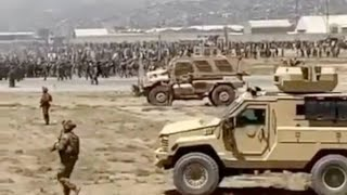 US Soldier Films Chaos From MRAP Gunner Turret In Kabul