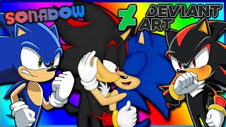 Sonic And Shadow VS DeviantArt (FT Tails)
