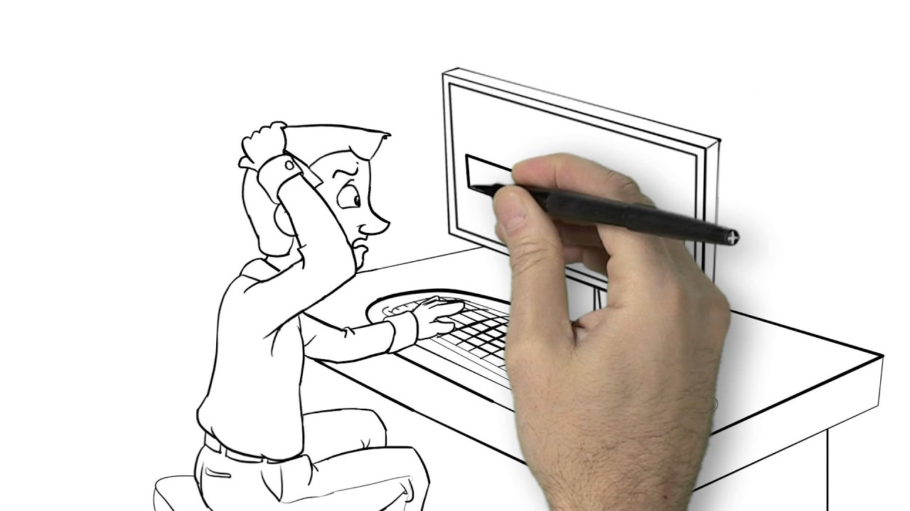 Grady Financial - Drawing Animation Example