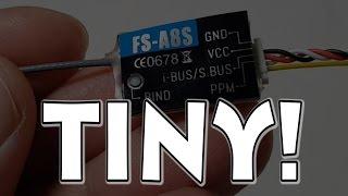 Flysky FS-A8S Micro Receiver Review 👍👍👍