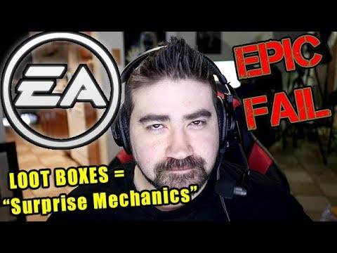 """EA & Epic's """"Surprise Mechanics"""" are not LOOT BOXES?! - Angry Rant!"""