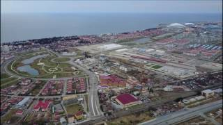 ЖК Урожайный с квадрокоптера || Обзор недвижимости в Сочи с квадрокоптера