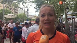 Nederlandse ploeg in lappenmand na WK Marathon in Barcelona