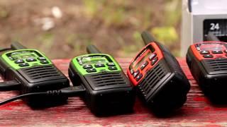 Midland XT10, XT30, XT50 és G5C PMR446 rádiók