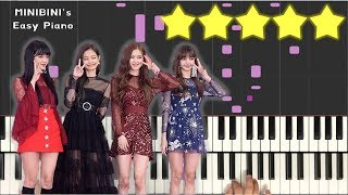 don't know what to do blackpink piano hard - TH-Clip