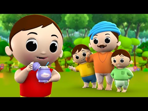 Johny Johny Yes Papa English Nursery Rhymes for Kids - Children Songs Bedtime Learning